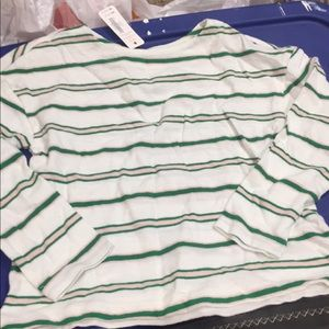 Gymboree long sleeve cotton shirt. 5/6 NWT